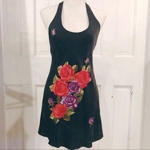 <SOLD >Victoria's Secret Silk Floral Lingerie